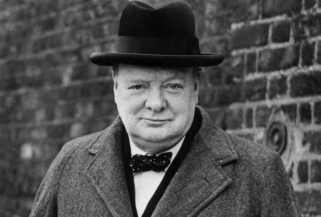Replica el estilo gourmet de Sir Winston Churchill