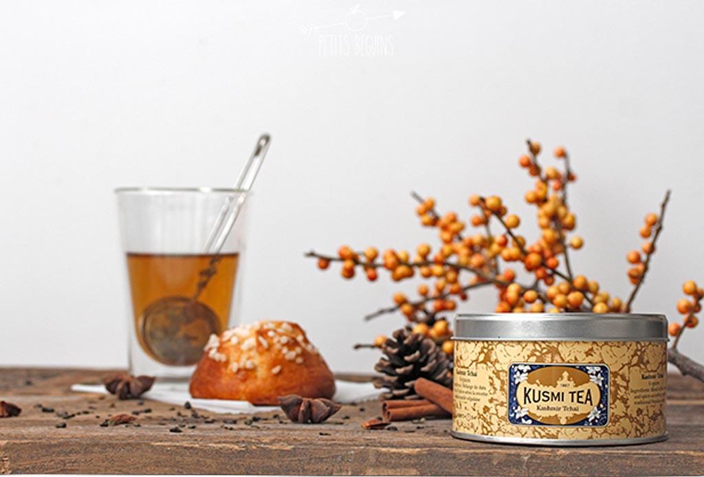 Recetas de invierno: té chai latte y tiramisu hechos con Kusmi Tea