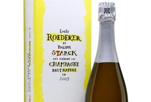 Philippe Starck colaboró con Louis Roederer para crear una exclusiva champagne