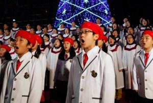 ¿Sabes cómo se festeja la navidad en Asia?
