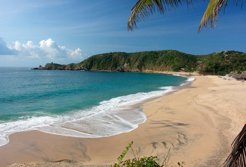 Las mejores playas vírgenes de México - playa-mazunte