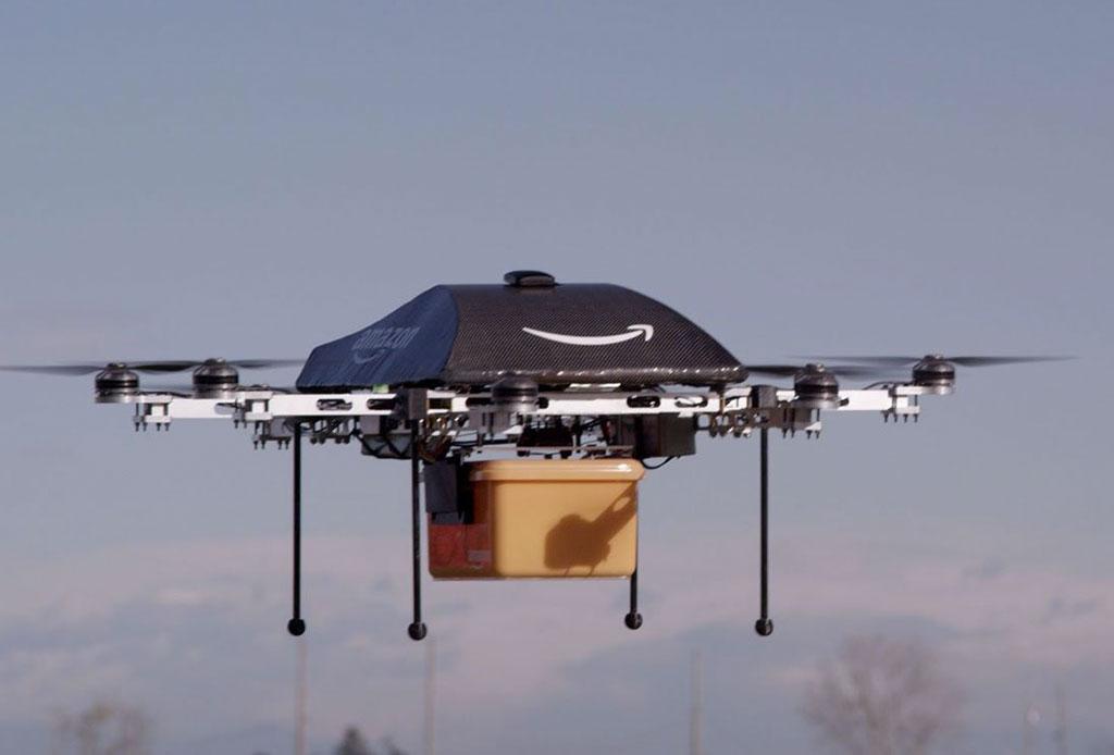 Amazon ahora enviará paquetes en ¡drones! - prime-air