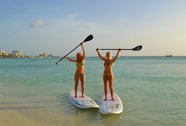 6 actividades de ecoturismo para hacer en Aruba - aruba-ecoturismo-paddle-board-1024x694