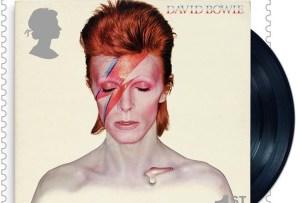 David Bowie tiene sus propias estampillas de correo