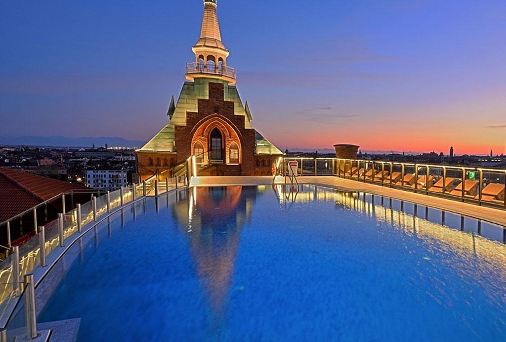 Los hoteles con las albercas más impresionantes del mundo - alberca-1