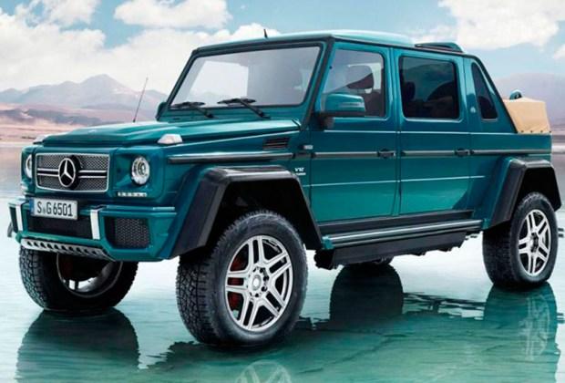 ¡Mercedes-Maybach lanza su primera SUV descapotable! - camioneta-1024x694