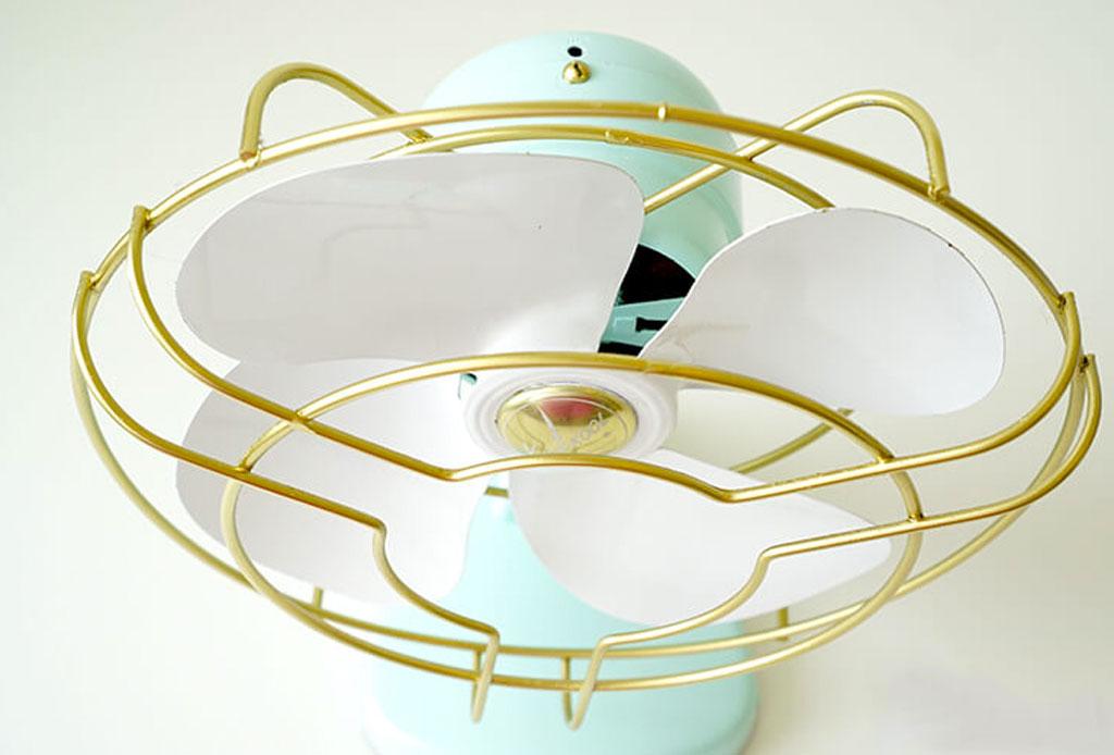 ¿Qué cambios hacer en la decoración de tu habitación cuando hace calor? - decoracion-ventilador