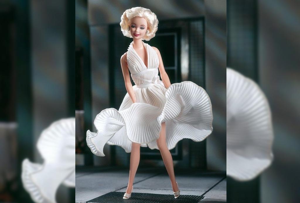 Celebridades que fueron convertidas a muñecas Barbie - maryln-moonroe