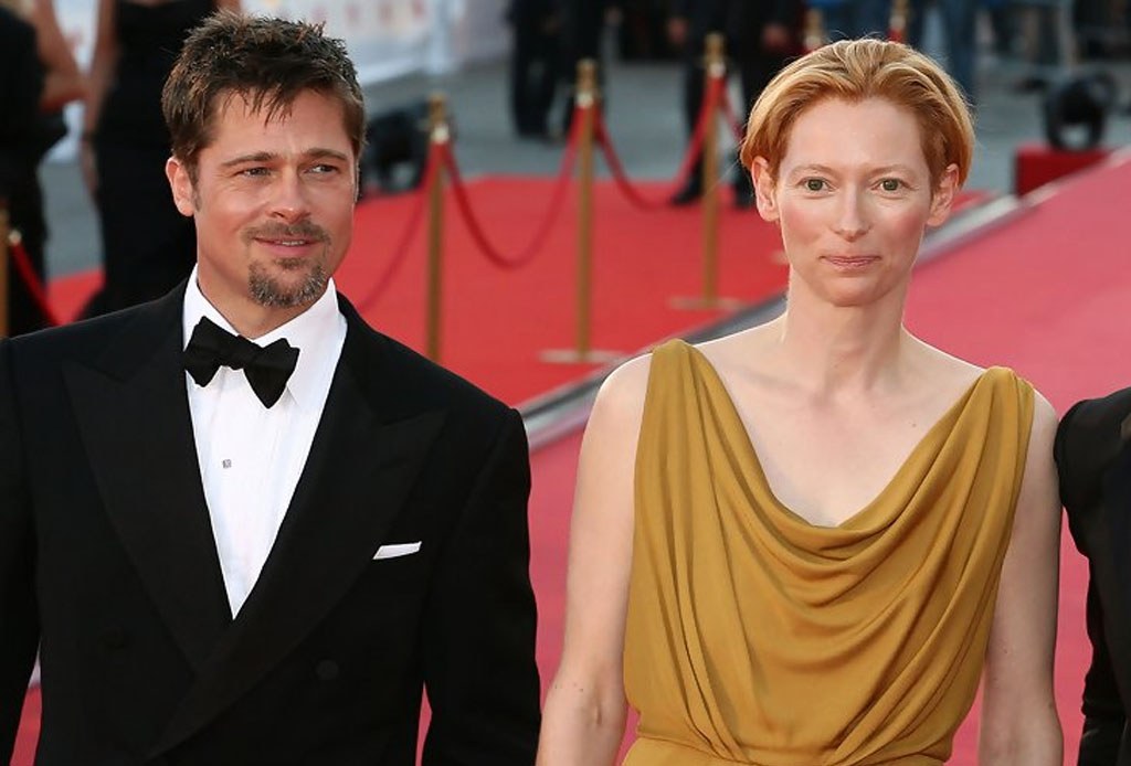 Tilda Swinton y Brad Pitt en películas originales de Netflix