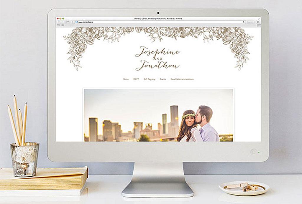 ¡Crea tu propio website de boda en estos sitios!