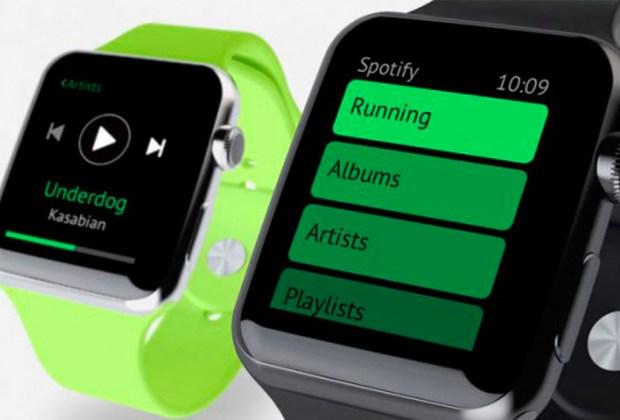 El Apple Watch pronto tendrá una app de Spotify - apple-watch-1024x694