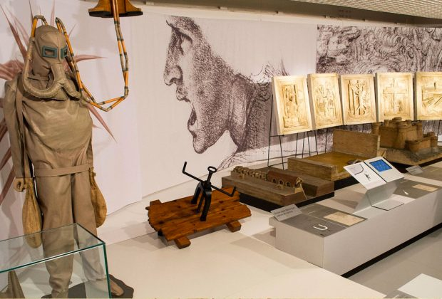 Las invenciones de Leonardo Da Vinci regresan a México - leonardo-da-vinci-exposicion-1024x694