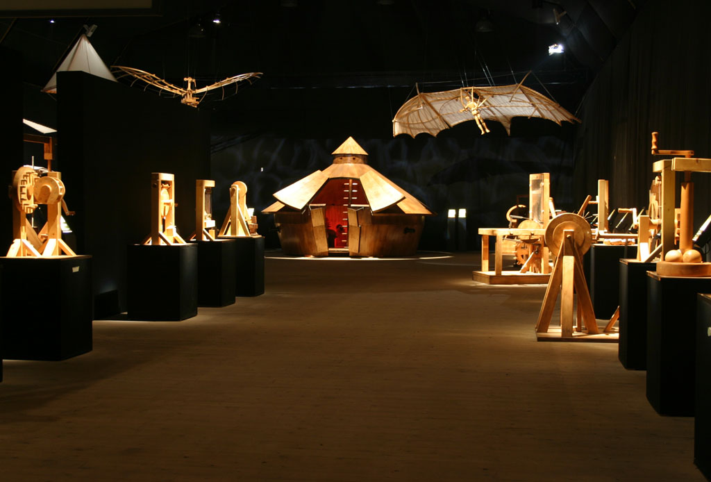 Las invenciones de Leonardo Da Vinci regresan a México