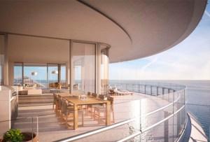 Te damos un tour por el nuevo penthouse de Novak Djokovic