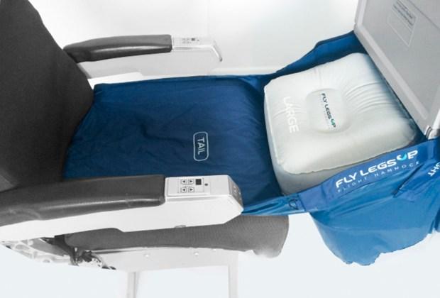 La hamaca perfecta para tus hijos en un avión - hamaca-1024x694