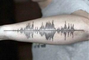 Tatuajes con música: lleva tu canción favorita en la piel