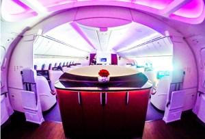 Los bares más exclusivos de los aviones