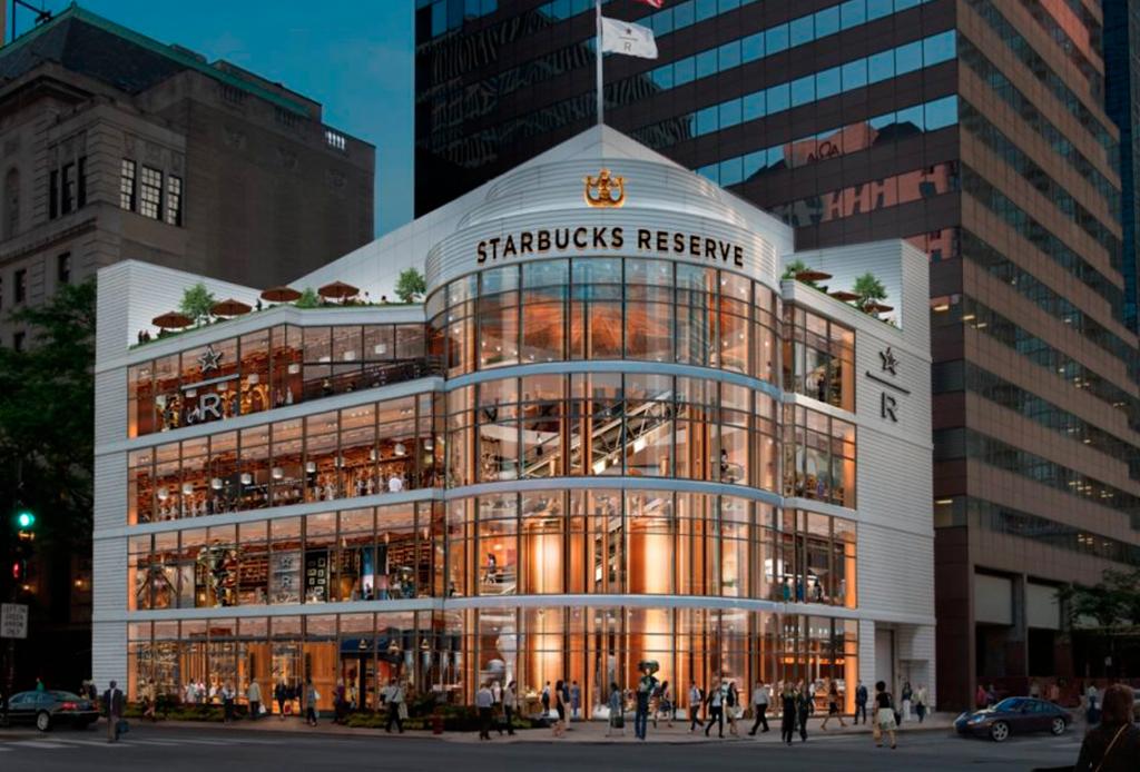 La cafetería de Starbucks más grande del mundo será de 4 pisos
