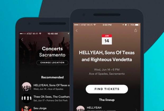 Spotify te ayudará a comprar boletos de conciertos - boletos-1024x694