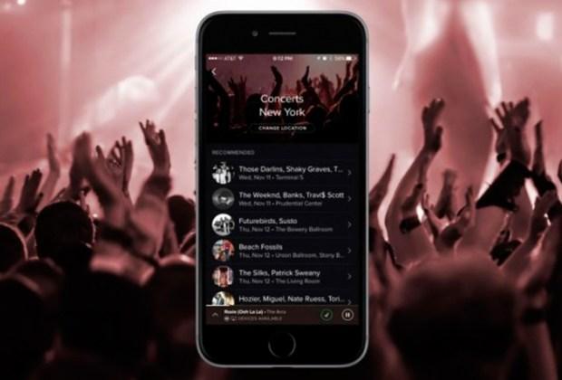 Spotify te ayudará a comprar boletos de conciertos - concierto-1024x694