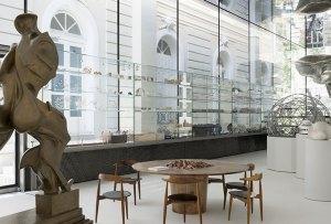 Conoce el pabellón de cristal que Norman Foster construyó en Madrid