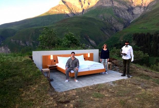 ¿Te atreverías a dormir en un hotel sin paredes? - hotel-sin-paredes-1024x694