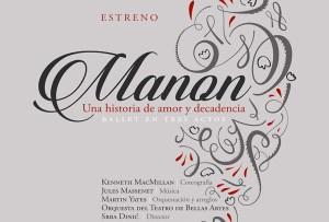 Manon. Ballet en tres actos