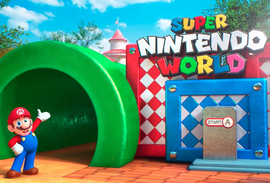 ¡Así será el parque temático de Nintendo!