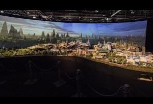 Star Wars llega a Disney y esta es una muestra de cómo se verá