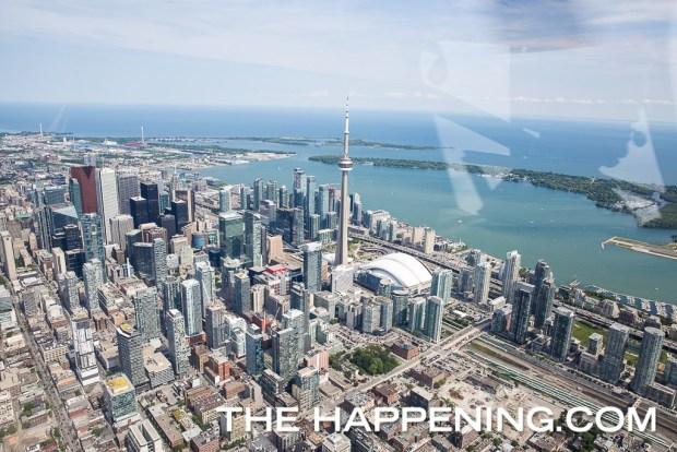 Así se siente sobrevolar Toronto en helicóptero - toronto-helicoptero-1024x683
