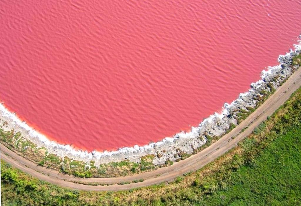 Destinos donde encontrarás lugares con agua rosa - canada
