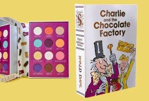 ¡Descubre la paleta de sombras inspirada en 'Charlie y La Fábrica de Chocolates'!