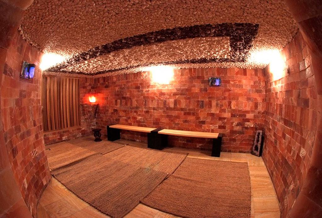 Himalayan Salt Sauna: cuevas de sal como tratamientos de spa - salt-sauna