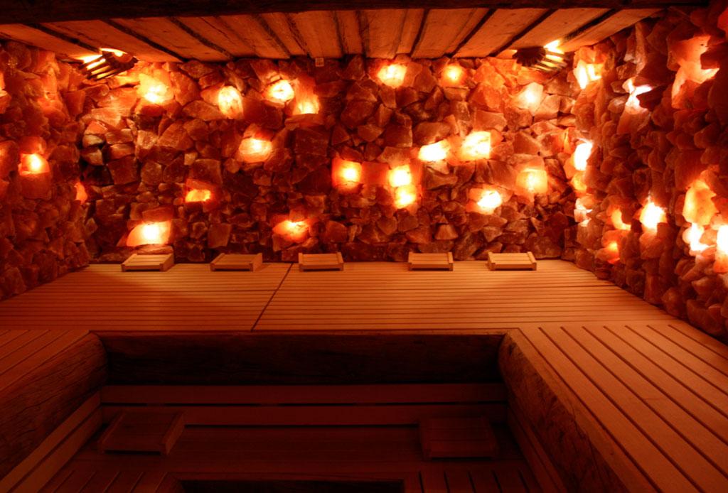Himalayan Salt Sauna: cuevas de sal como tratamientos de spa - sauna-sal