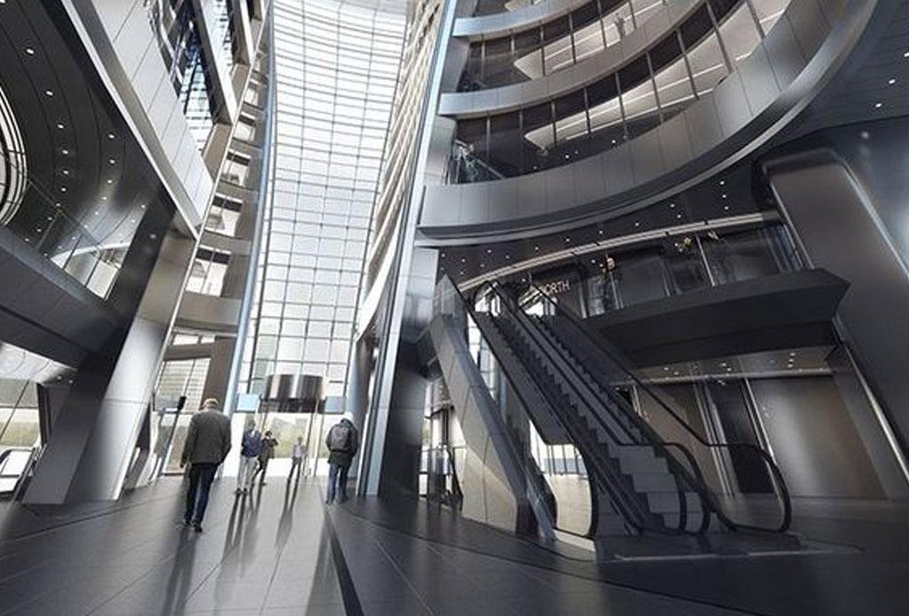 El nuevo atrio más alto del mundo es obra de Zaha Hadid - atrio-zaha-hadid-4