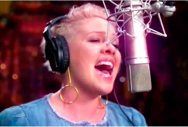 Apple Music tiene un documental del nuevo álbum de Pink - grabacion-1024x694