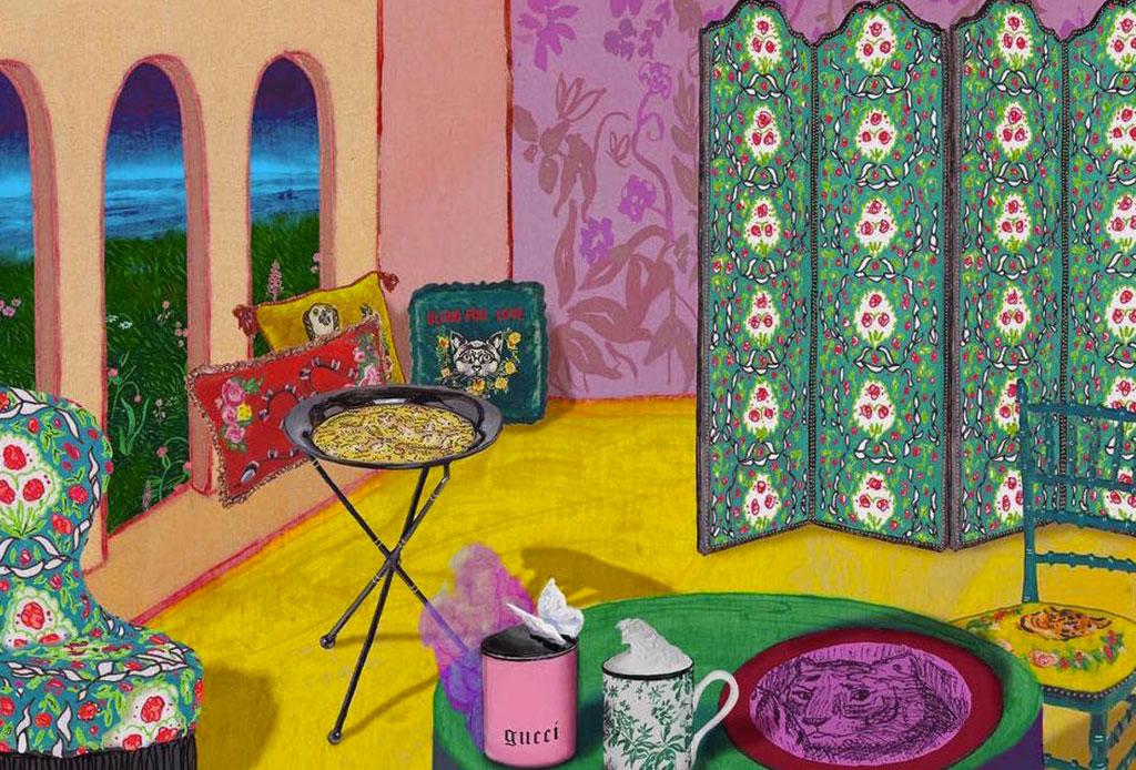 Decora tu hogar con la nueva colección de Gucci - gucci-decoracion-2