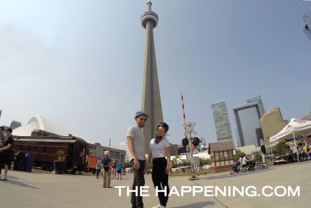 ¿La mejor forma de conocer Toronto? ¡En bicicleta! - luis-gerardo-cn-tower-1024x683
