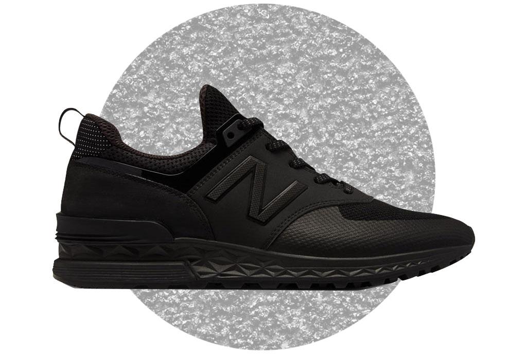 """Los sneakers para ELLOS en versión """"All Black"""" - negro-10"""