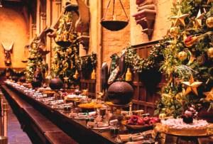Este año puedes pasar una cena de Navidad ¡en Hogwarts!