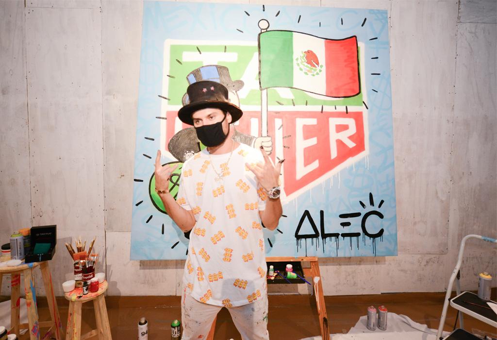 Tag Heuer colaboró con el artista Alec Monopoly y no solo crearon un reloj