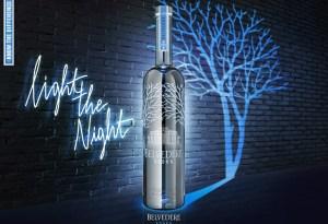 Belvedere Vodka presenta su botella de edición especial ¡personalizada!