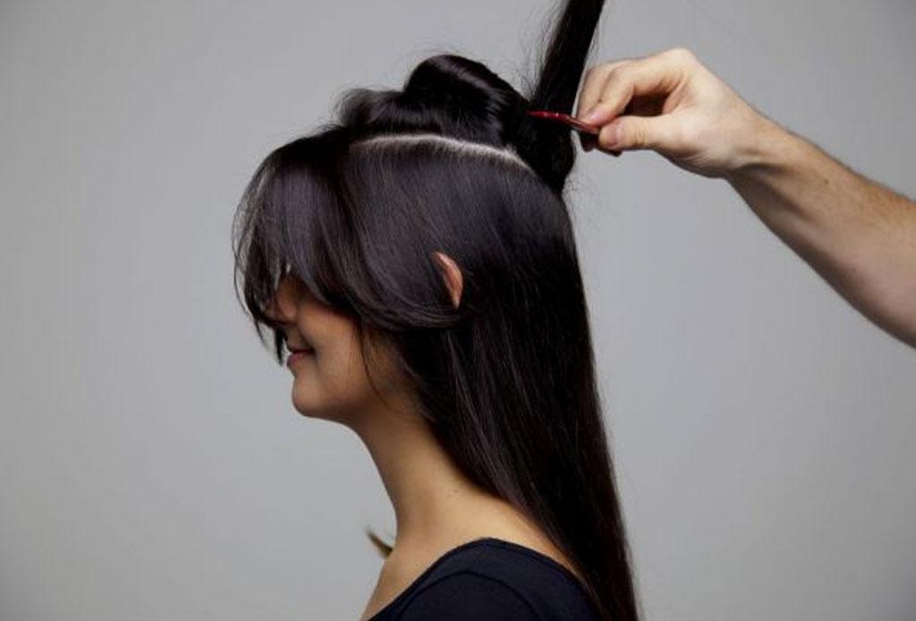 El secreto para mantener tu peinado de fiesta en su lugar - crepe-pelo