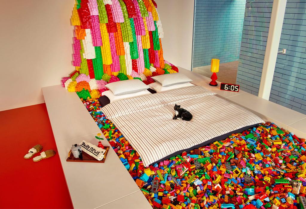 ¡Será posible pasar la noche en LEGO House con Airbnb!