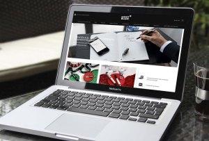 Montblanc YA tiene tienda en línea y esta navidad va a ser más útil que nunca