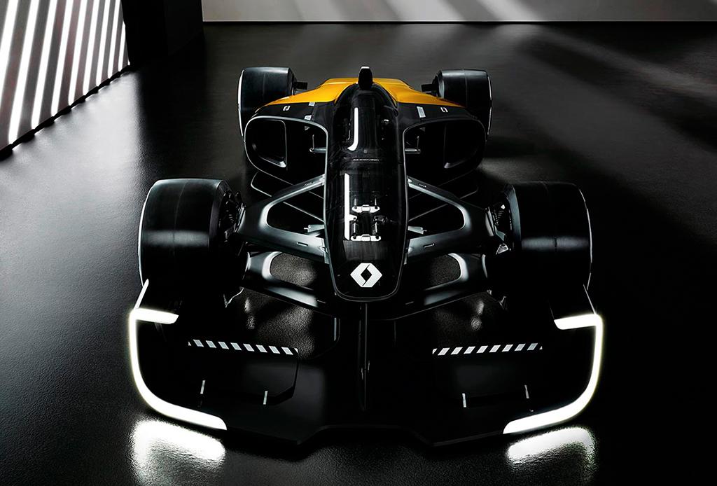 Así es como ve Renault un auto de Fórmula 1 en el 2027