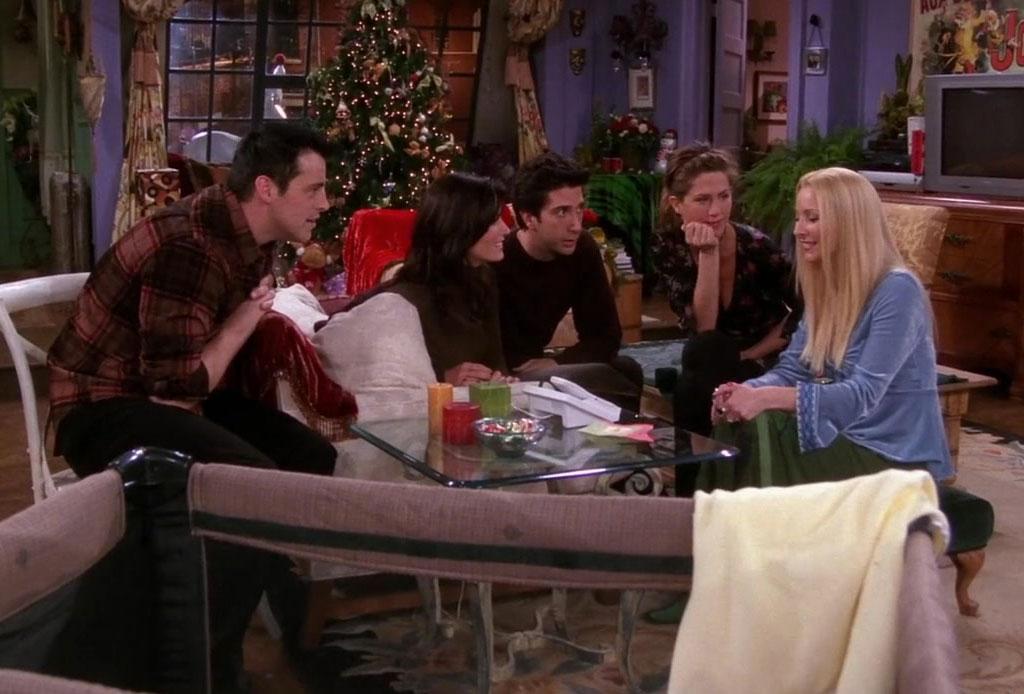 Disfruta de un maratón con los 9 episodios navideños de Friends - friends-episodio-navidad-5