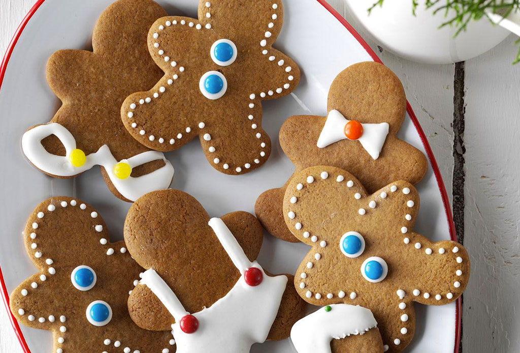 Te decimos cómo preparar las tradicionales galletas de jengibre