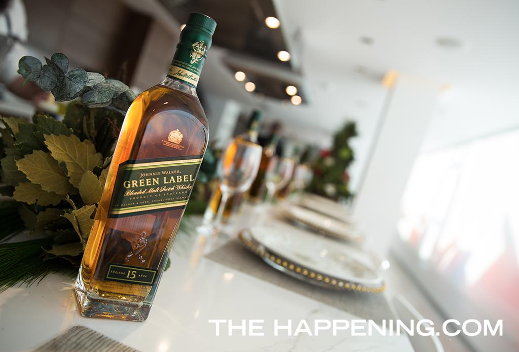 Este fin de año se celebra con Johnnie Walker Green Label