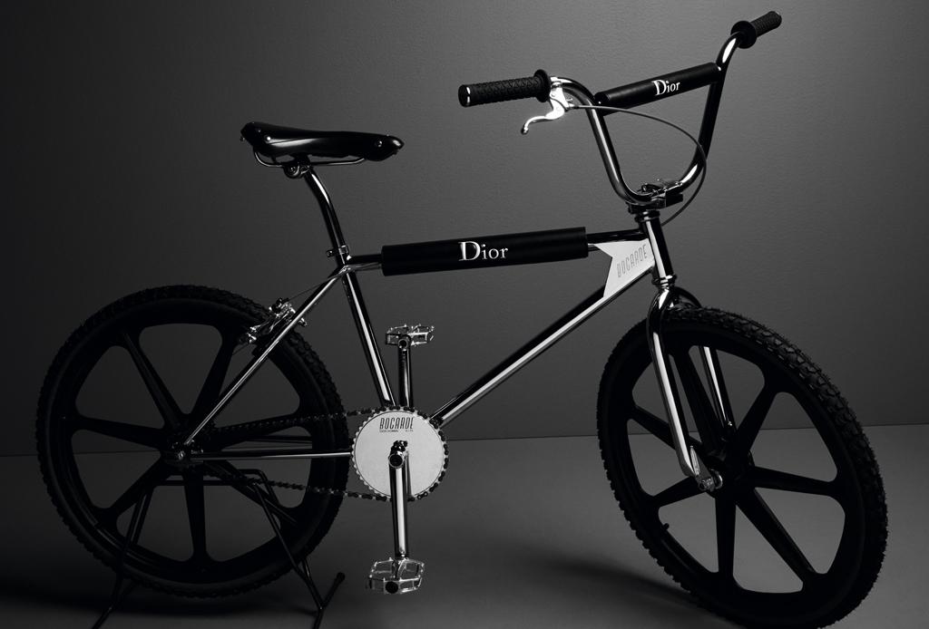 ¡Dior Homme lanza una bicicleta BMX!